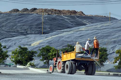 Nghiên cứu, xem xét bố trí khu xử lý chất thải rắn tại tỉnh Hòa Bình