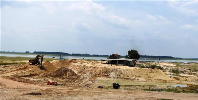 Tây Ninh còn nhiều sai phạm trong hoạt động khai thác khoáng sản