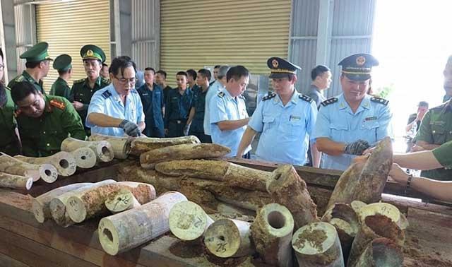 Hải quan Việt Nam quyết tâm phòng, chống vi phạm Công ước CITES