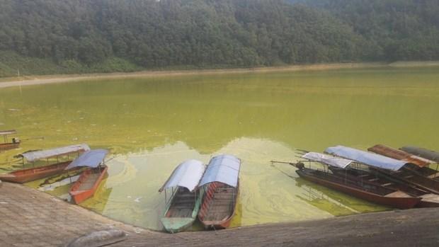 """""""Viên ngọc xanh"""" phía sườn Tây Tam Đảo ô nhiễm nặng, bốc mùi tanh nồng"""