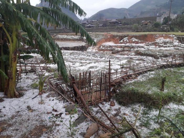 Cảnh báo lốc, sét, mưa đá ở Tây Bắc, Việt Bắc, Nam Bộ