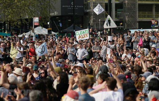 Giới trẻ toàn thế giới bãi khóa yêu cầu chống biến đổi khí hậu