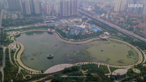 """Hà Nội: Công viên trăm tỉ ô nhiễm trầm trọng, dân không dám """"bén mảng"""""""