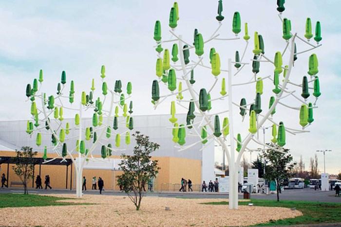 Biến cây nhân tạo thành nhà máy điện mini