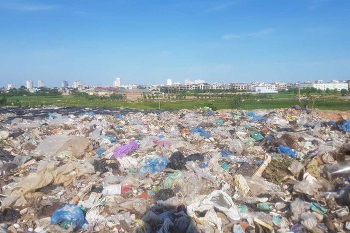 Sầm Sơn: Ô nhiễm nghiêm trọng vì rác tồn đọng