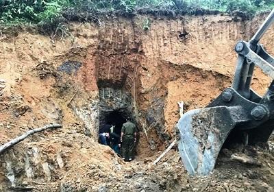 """Nghệ An: Phá hủy 45 điểm khai thác khoáng sản tại các mỏ thiếc """"hết đát"""""""