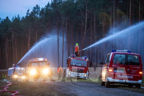 Đức: Hàng trăm người phải sơ tán do cháy rừng