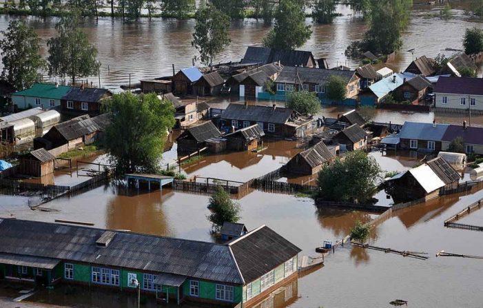 Nga: Hàng trăm người bị thương vì trận lũ lụt lịch sử tại Đông Siberia