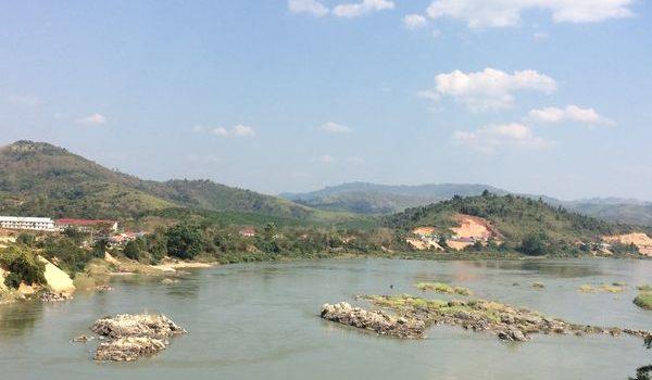 Mực nước sông Mê Công xuống thấp nhất trong 10 năm qua