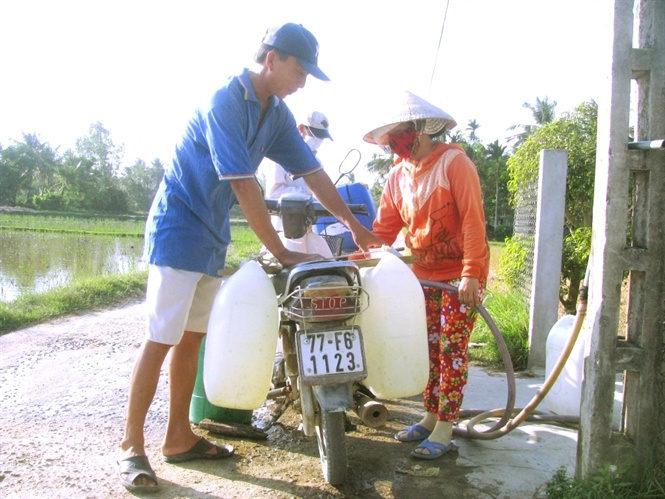 Bình Định: Hơn 42.500 người dân 'khát' nước