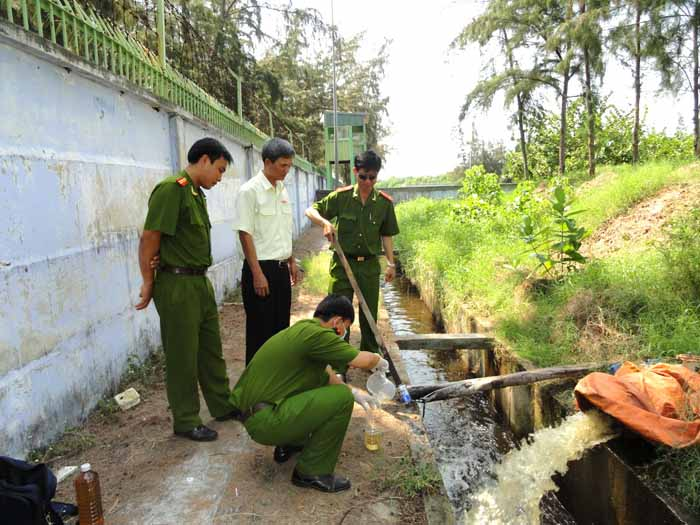 Cảnh sát môi trường phải bố trí cán bộ trực ban 24/24 giờ