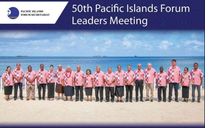 Diễn đàn quần đảo Thái Bình Dương hối thúc hành động chống biến đổi khí hậu